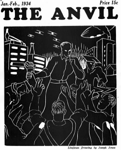 Joseph Jones, cover design. No. 4 (Jan.-Feb. 1934).