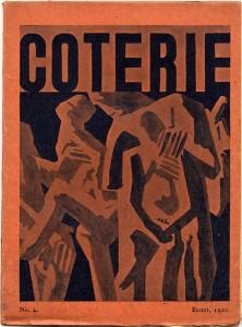 David Bomberg, cover design, No. 4 (April 1920).