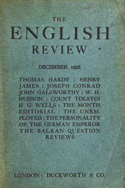 Image result for The English review magazine 1908